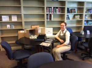 Raleigh Campus Librarian Heather Mitchell-Botts